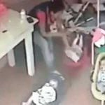 video espantoso