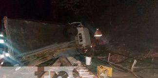 nicaragua, boaco, accidente de tránsito, personas lesionadas,