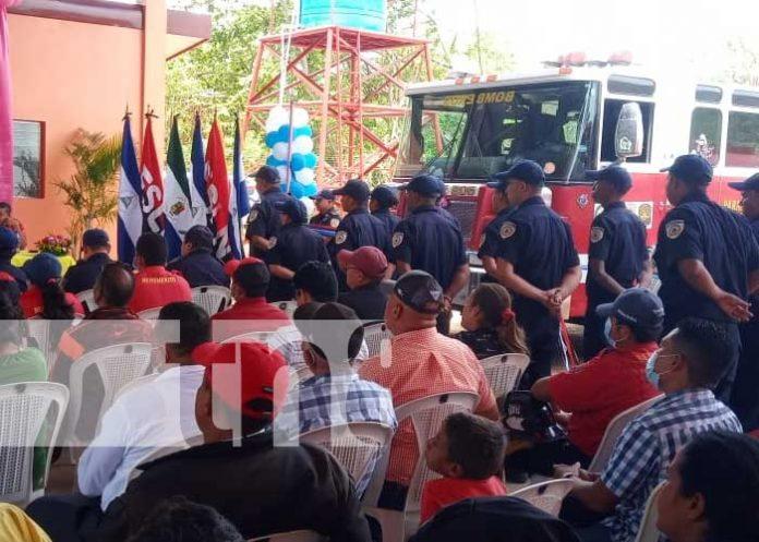 nicaragua, bomberos, rivas, seguridad, estacion,