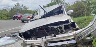 nicaragua, accidente, muertos, accidente vial,