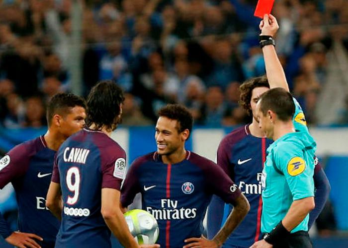 neymar es expulsado