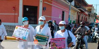 nicaragua, granada, minsa, jornada de vacunacion, salud,