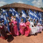 Lanzamiento de las fiestas patrias en Nicaragua desde la Hacienda San Jacinto