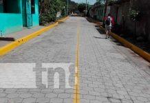 nicaragua, jinotepe, barrio, calles, barrio la cruz de guadalupe,