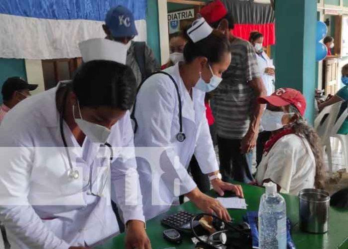 nicaragua, triangulo minero, vacuna, jornada,