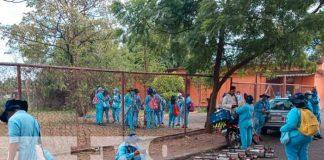 jornada de fumigación, barrio venezuela, minsa, dengue,