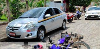 nicaragua, Juigalpa, taxi, lesionado, accidente,
