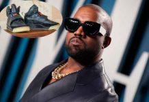 kanye west, subasta, zapatos, record,