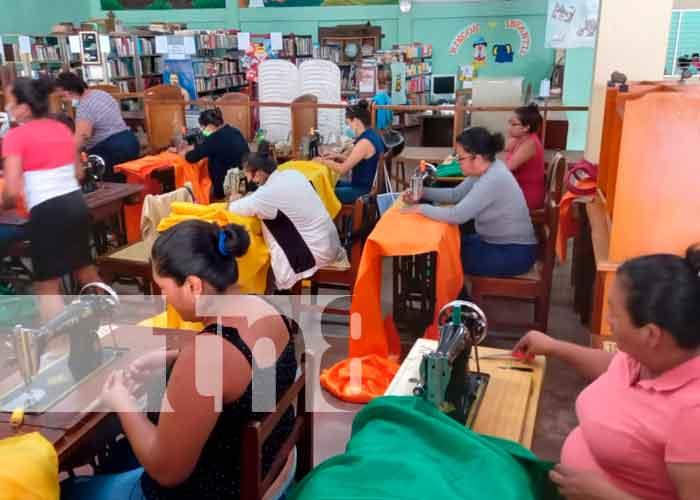 nicaragua, masaya, escuela de oficio, emprender,