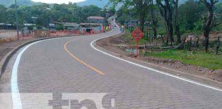 nicaragua, matagalpa, carretera adoquinada, gobierno , familias,