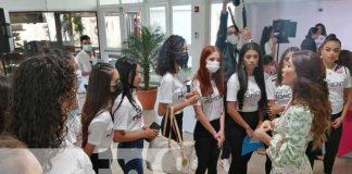 nicaragua, miss teen, competencia, belleza, joven,