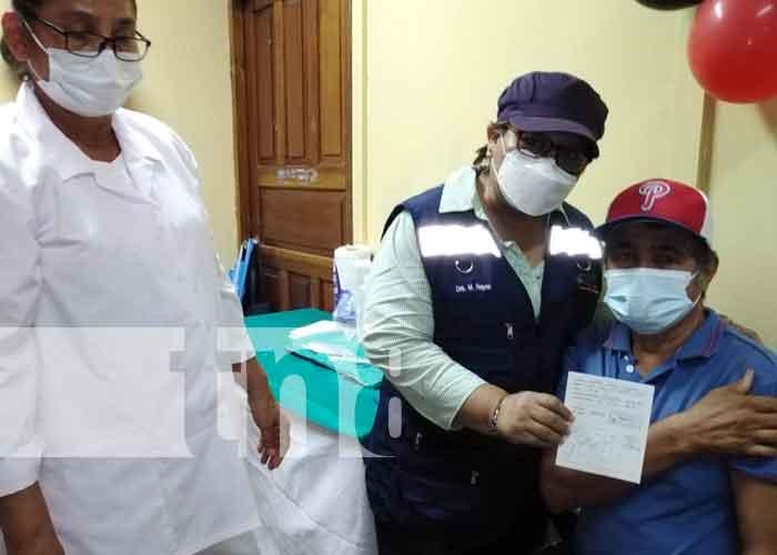 nicaragua, caribe sur, jornada de vacunacion, covid-19,