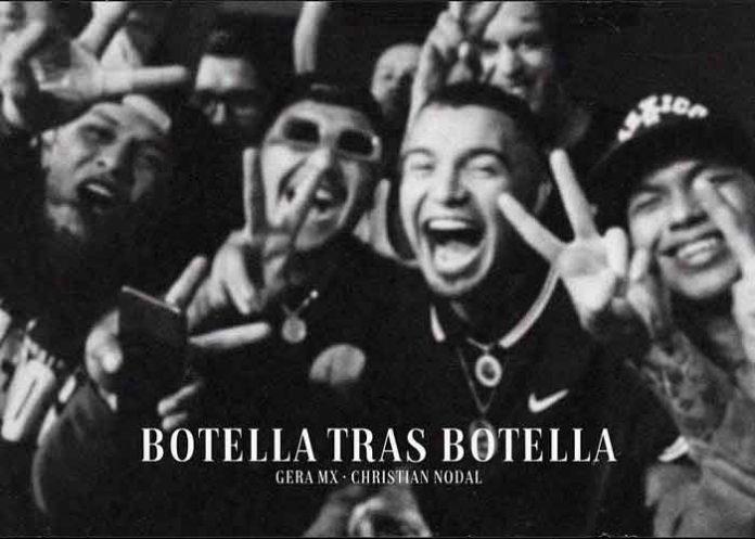 musica, record, botella tras botella, christian nodal