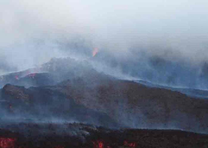 guatemala, volcan pacaya, lava, erupcion,