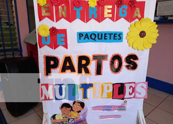 nicaragua, jinotega, parto multiple, paquete alimenticio, familia,