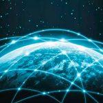 red de satelites