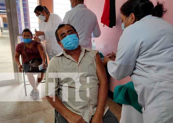 vacunacion, covid-19, minsa, ticuantepe, san rafael del sur, nicaragua,