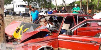 nicaragua, accidente, carretera, xiloa, lesiones,