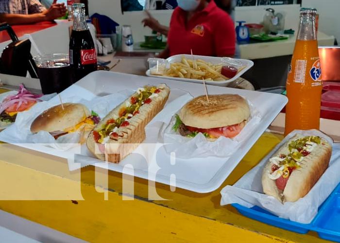 nicaragua, managua, puerto salvador allende, Burger Club