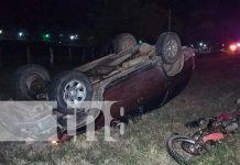nicaragua, matagalpa, sebaco, accidente de tránsito,