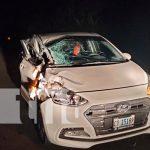 nicaragua, chontales, accidente de transito, lesionado,