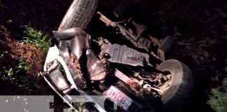 nicaragua, carazo, accidente de transito, lesionados,