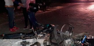 nicaragua, accidente de transito, fallecido, motocicleta, nueva segovia