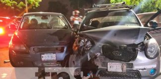 nicaragua, managua, accidente de transito, lesionado,