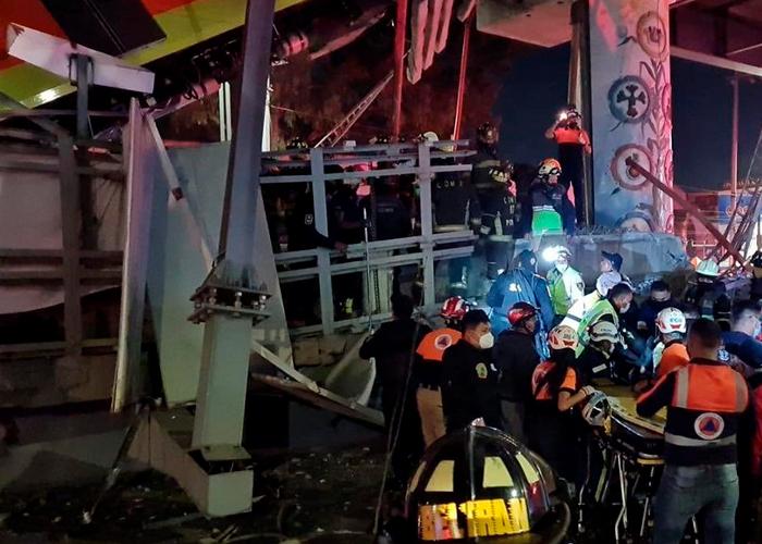 America latina, mexico, desplome del metro, heridos, muertos,