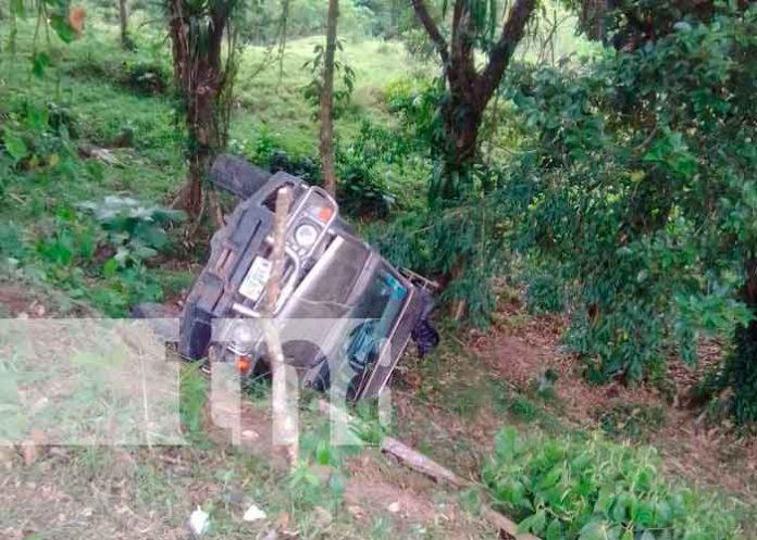 nicaragua, accidente de transito, lesionados, mulukuku, Comunidad Wilikon,