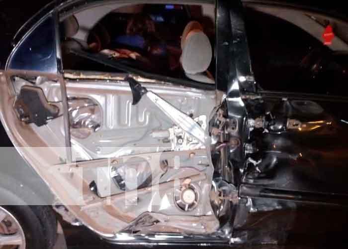 nicaragua, accidente de transito, lesionados, tipitapa,