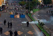 colombia, cali, represion policial, denuncia, paro nacional,