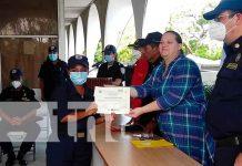 nicaragua, bomberos, graduacion, academia nacional, curso de induccion bomberil,