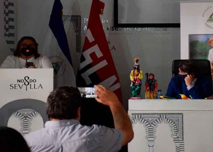 nicaragua, embajada de españa sevilla, homenaje, sandino