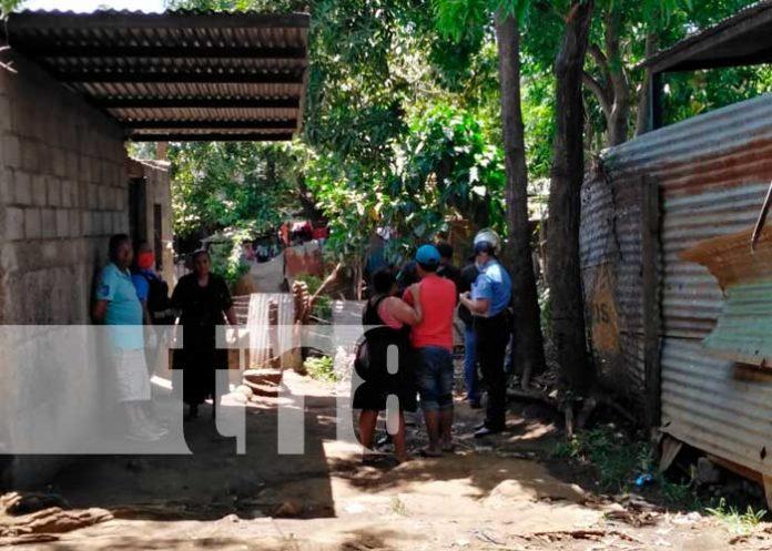 nicaragua, managua, fallecido, policia nacional, barrio milagro de dios