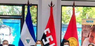 nicaragua, mined, seminario, merienda escolar, habitos de alimentacion