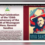 nicaragua, reino unido, sandino, conmemoracion, natalicio