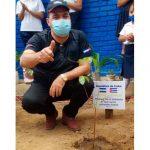 nicaragua, embajador de cuba, mined, siembra de arboles