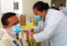 nicaragua, rivas, penas blancas, vacuna, pandemia,