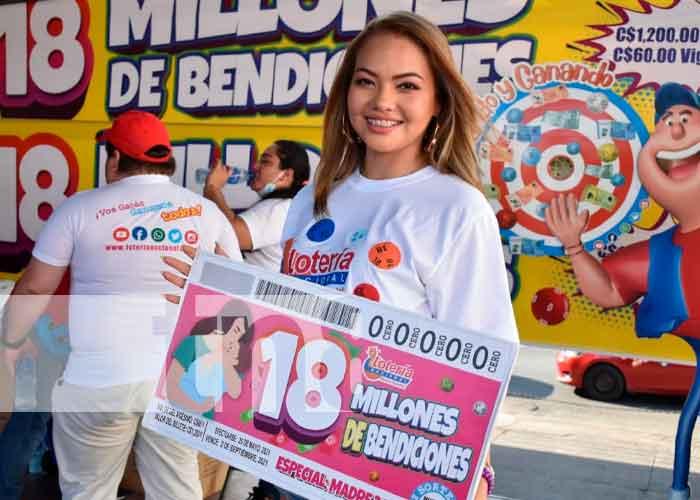 nicaragua, leon, Lotería Nacional, 18 millones de bendiciones,