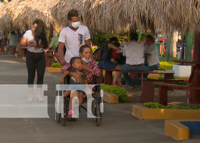 nicaragua, managua, familias, puerto salvador allende,