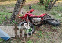 nicaragua, accidente, chontales, motorizados,