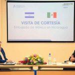 nicaragua, inatec, gobierno, embajador de mexico, recibimiento