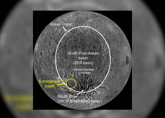 ciencia, nuevo mapa, luna, polo sur, estudio
