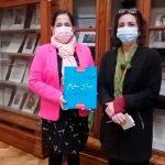 nicaragua, embajadora, chile, visita, biblioteca nacional