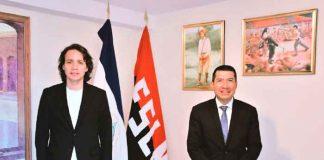 nicaragua, embajada en españa, visita, secretario general de la oij, propositos