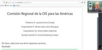 nicaragua, oie, sanidad animal, eleccion, vicepresidencia