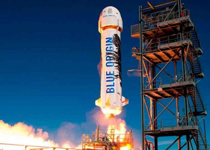 iencia, blue origin, new shepard, primer lanzamiento, espacio