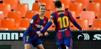 messi, griezmann, futbol, atletico, barcelona