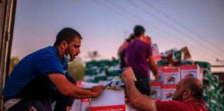 egipto, ayuda humanitaria, envio, gaza, autoridades,
